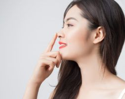 Medical rhinoplasty of the Asian nose